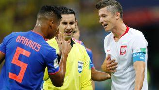 Ramos Palazuelos habla con Lewandowski y Barrios