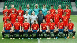 Nueva foto oficial de La Roja para Rusia 2018