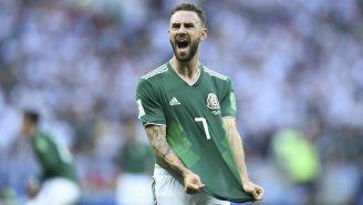 Miguel Layún celebra victoria frente a Alemania