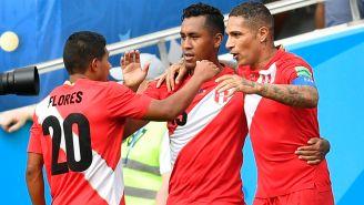 Guerrero celebra su anotación contra Australia