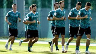 Alemania se prepara de cara al duelo contra Corea del Sur