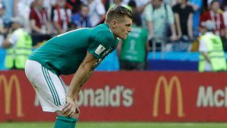 Toni Kroos se lamenta tras caer contra Corea