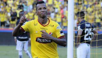 Aimar durante partido de Barcelona de Guayaquil
