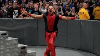 Nakamura durante programa de Smackdown Live
