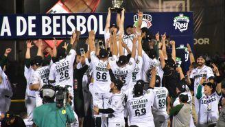 Leones levantan el trofeo de la LMB