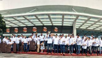 Leones de Yucatán celebra con afición el Campeonato de la LMB