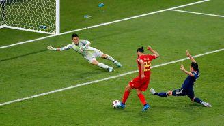 El momento del gol de Nacer Chadli