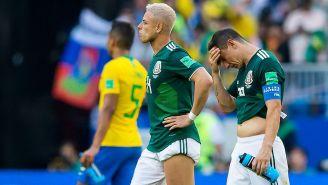 Guardado y Chicharito se lamentan tras la derrota