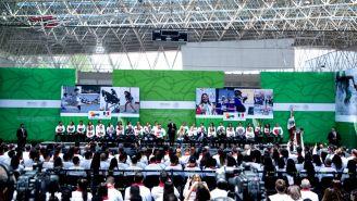Abanderamiento de la delegación mexicana que participará en los XXIII juegos Centroamericanos y del Caribe