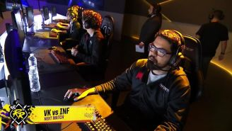 Infinity Esports, previo a su partida contra Vivo Keyd en Rift Rivals