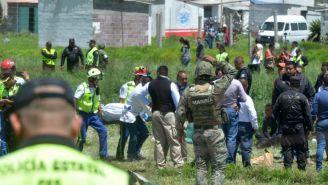 Las explosiones fueron en talleres de pirotecnia de Tultepec
