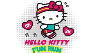 Promocional de la carrera Hello Kitty Fun Run