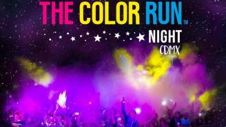 Promocional de la carrera The Color Run Night