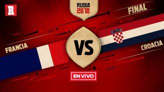 EN VIVO y EN DIRECTO: Francia vs Croacia