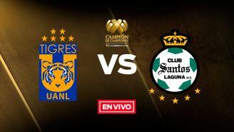 EN VIVO Y EN DIRECTO: Tigres vs Santos