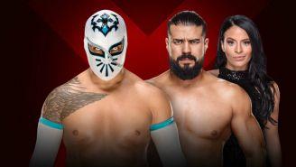 Sin Cara, Andrade 'Cien' Almas y Zelina Vega, en promocional para Extreme Rules