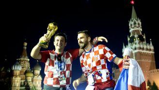 Aficionados de Croacia emocionados por la Gran Final de Rusia 2018