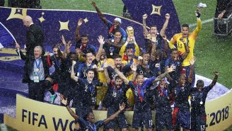 La Selección de Francia levanta la Copa del Mundo de Rusia 2018