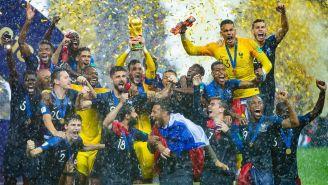 La selección de Francia levanta la Copa del Mundo