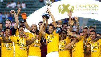 Tigres festeja título de Campeón de Campeones