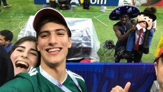Benjamin Mendy con el sombrero de Charro