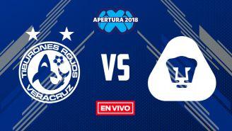 EN VIVO y EN DIRECTO: Veracruz vs Pumas