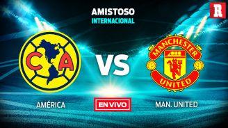 EN VIVO y EN DIRECTO: América vs Manchester United