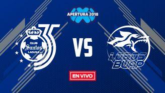 EN VIVO Y EN DIRECTO: Santos vs Lobos BUAP