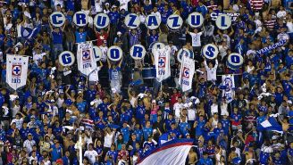La Sangre Azul apoya a su equipo en un partido