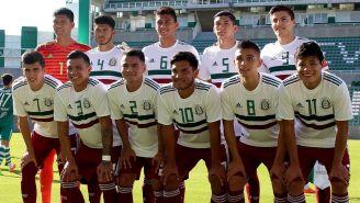 El 11 inicial del Tri Sub 21, en un partido de preparación contra Zacatepec