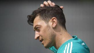 Özil se lamenta tras partido de Alemania