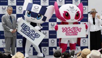 Miraitowa y Someity, mascotas oficiales de Tokio 2020