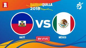 EN VIVO Y EN DIRECTO: Haití vs México
