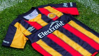Nuevo jersey de local que usarán los Melenudos