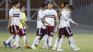 Selección Mexicana luego de caer ante El Salvador