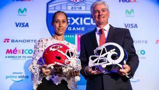 Arturo Olivé, tras conferencia sobre juego de NFL en México