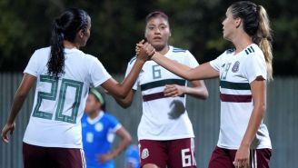 Tri Femenil celebra victoria contra Nicaragua en Juegos Centroamericanos