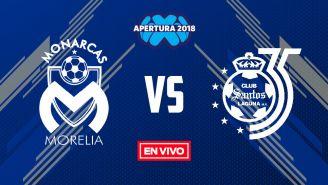 EN VIVO Y EN DIRECTO: Morelia vs Santos