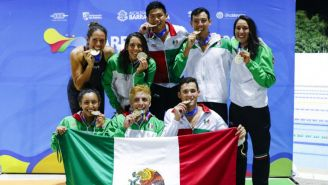 Equipo 4x100 femenil y varonil ganan oro