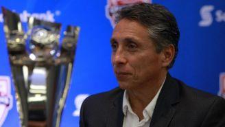 Manuel Negrete, en un evento de la Concacaf