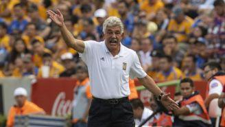 Ricardo Ferretti lanza un grito en el Tigres vs Xolos del A2018