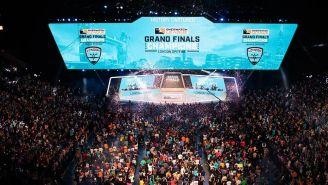 El Barclays Center lució pletórico para la final de la temporada inaugural de la Overwatch League