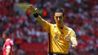 César Arturo Ramos, en un duelo de Liga MX