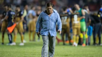 Herrera se lamenta tras el empate sin goles ante Dorados