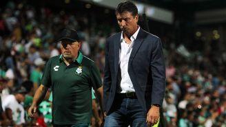 Siboldi tras un juego con Santos en Torreón