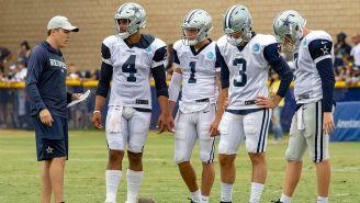 Los quarterbacks de los Cowboys en pretemporada