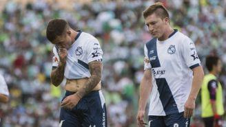 Tabó y Chumacero se lamentan después del partido