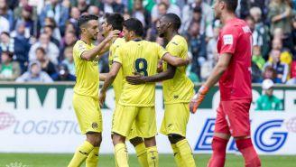 Villarreal festeja victoria frente a Werder Bremen