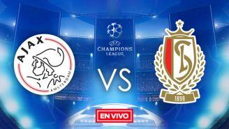 EN VIVO y EN DIRECTO: Ajax vs Standard