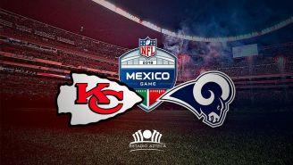 Anuncio del juego entre Kansas y Rams para 2018